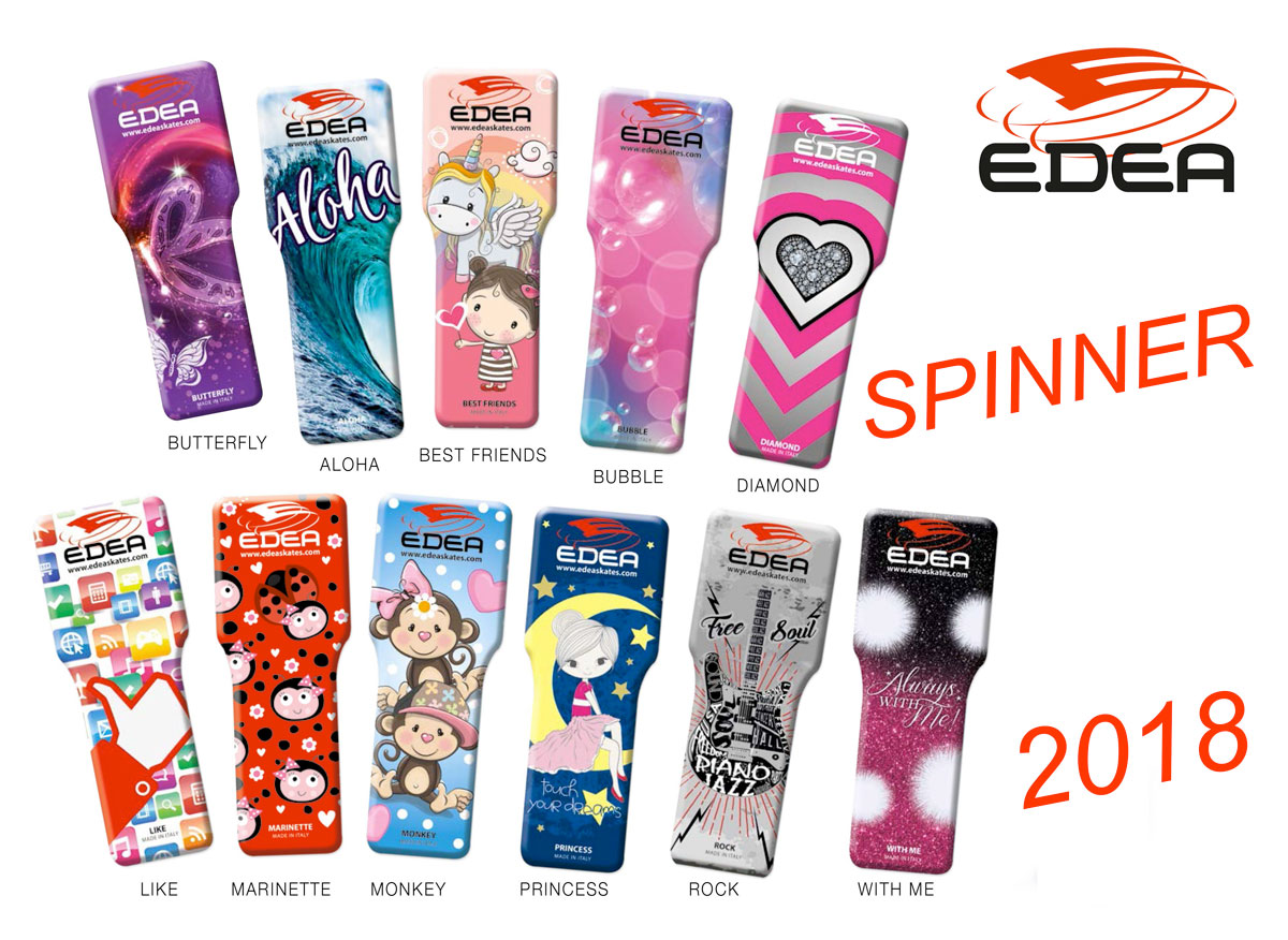 Spinner Collection 2018 - Edea Skates